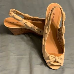 Maurices Cork Wedges